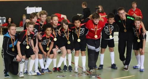 TSV Ebersgöns neuer U13 Deutscher Meister
