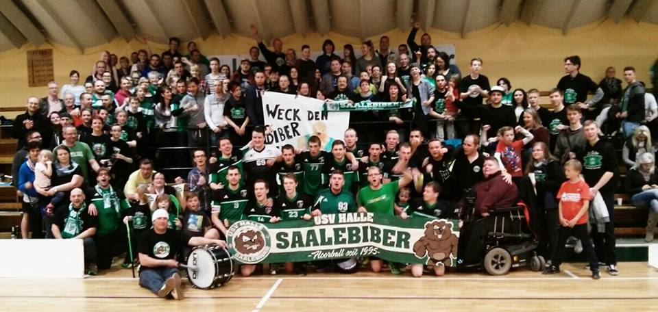 Saalebiber landen über Umwege in der ersten Liga
