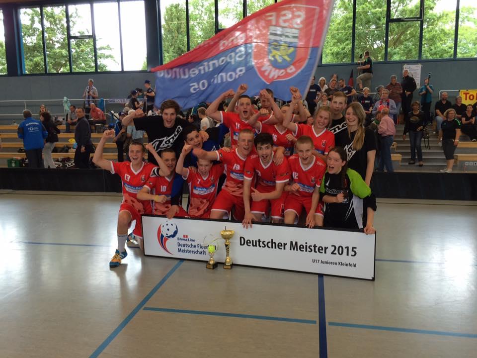 SSF Dragons Bonn feiern zweiten U17-Titel