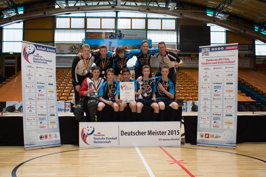 Der neue U15 Meister heißt TSV Tollwut Ebersgöns