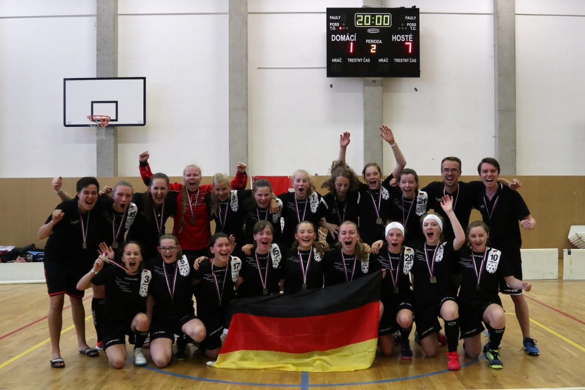 WU19: B-Siegerinnen an den Prague Games