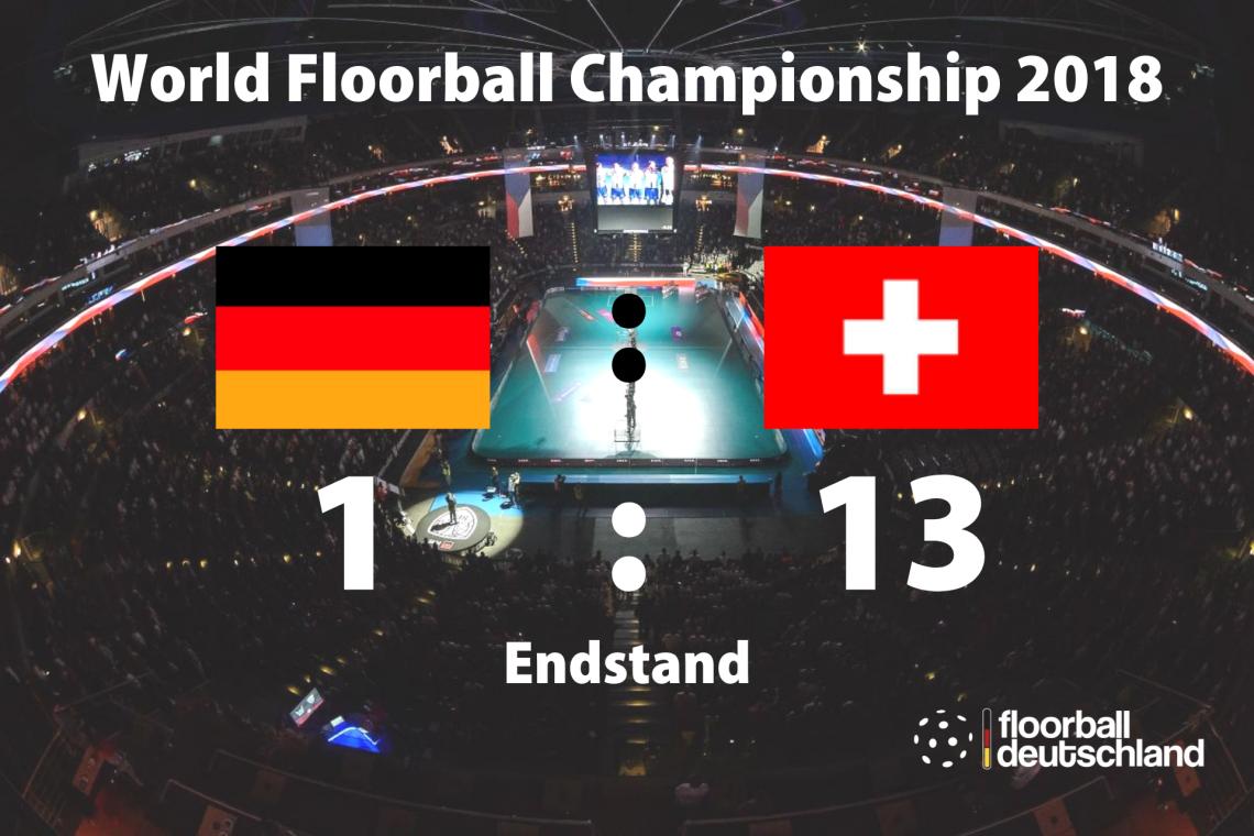 Die Schweizer waren heute eine Nummer zu groß
