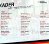 FD-Pokal: Achtelfinale (Herren) und Viertelfinale (Damen) ausgelost
