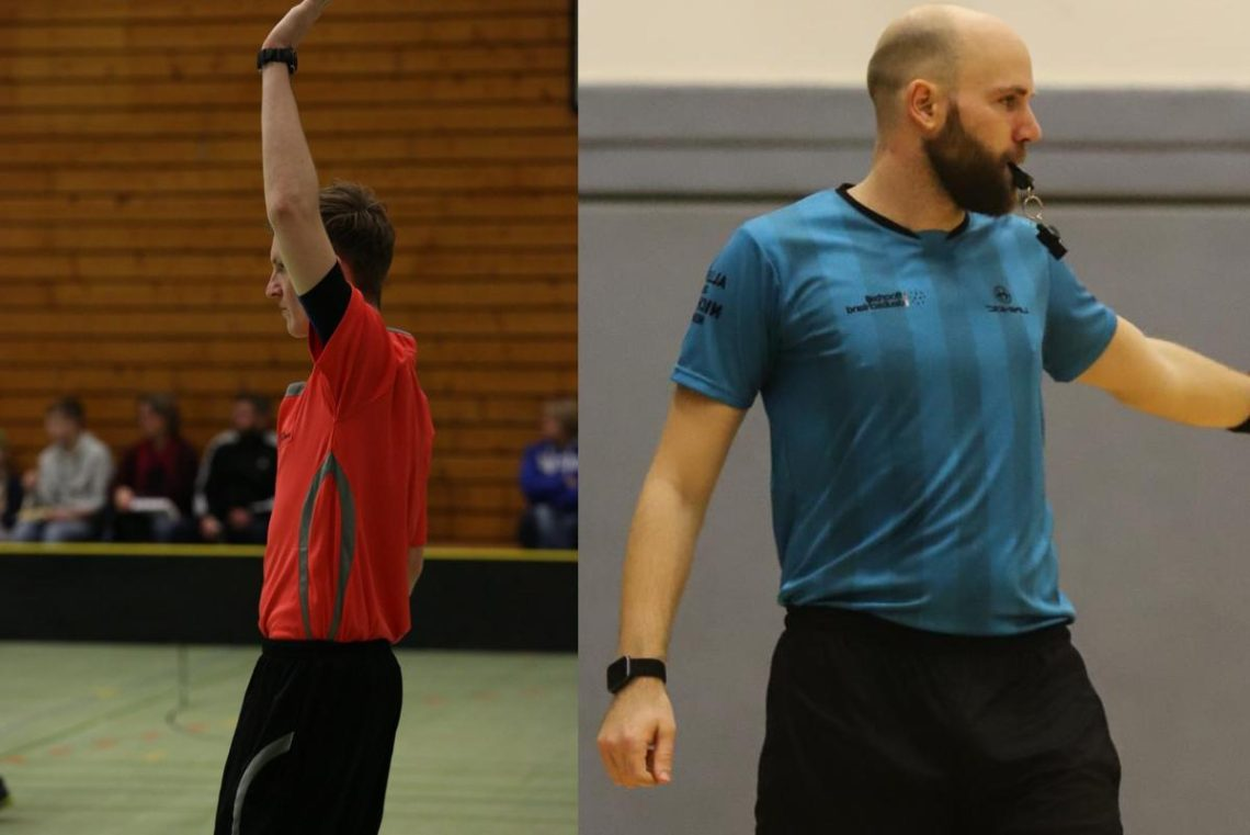 Deutsches Schiedsrichterpaar bei den Czech Open im Einsatz