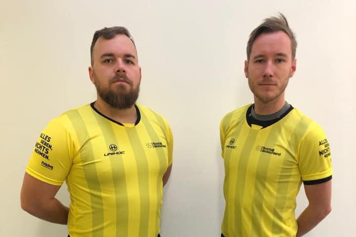 Zwei Deutsche Schiedsrichterpaare auf die IFF-Liste berufen