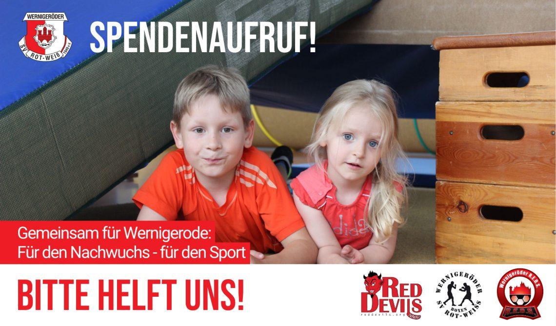 Crowdfunding-Projekt der Red Devils Wernigerode