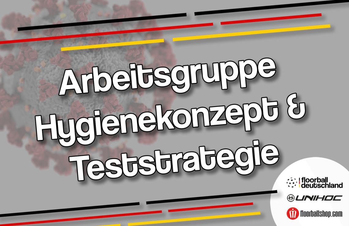 """Floorball Deutschland ruft Arbeitsgruppe """"Hygienekonzept und Teststrategie"""" ins Leben"""