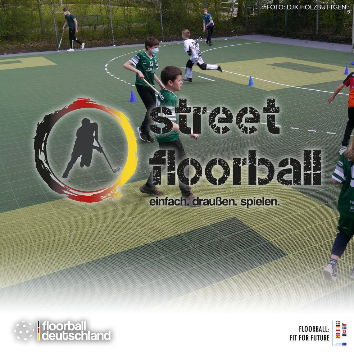 5. Street Floorball Meeting stößt auf große Resonanz